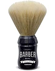 BARBER MARMARA Shaving Brush No.771 scheerkwast met dassenhaar, synthetisch en natuurlijk haar, mix voor superscheerschuim, kwaliteit in Barbershop stijl nat scheren