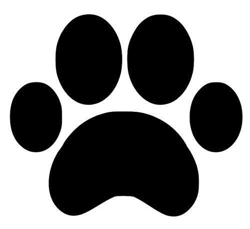 Tiger Paw Prints - 16 Large Paw Prints Premium Quality