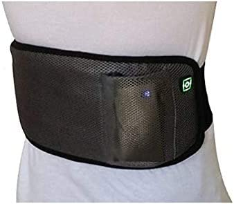 """BriteLeafs Far Infrared Therapeutic Rechargeable Cordless Pain Relief Heating Pad/Heating Wrap - Cordless, Rechargeable, Portable, Heat Lasts 2-3 Hours (24""""x8"""")"""