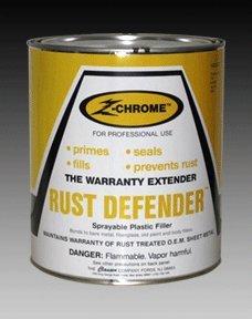 (Clausen Z-Chrome RUST DEFENDER Hi-Build Polyester Primer, 1 Gallon)