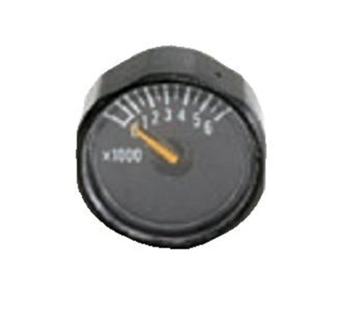 Psi Paintball Gauge (Ninja 0-6000psi Paintball Ultra Lite Nano Mini Gauge)