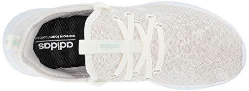adidas Women's Cloudfoam Pure Running Shoe, Cloud White/Ice Mint, 5 Medium US by adidas (Image #7)