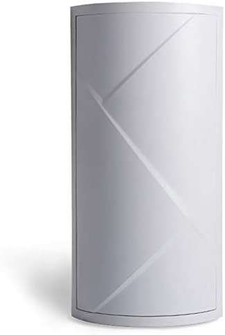 YuShi-NH Badezimmer 360 Grad Dreieck Regal Küche Toilette Regal Eckregal Badezimmer Lagerregal Schrank Multi Layer 42x19x19cm