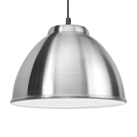 Modern Silver Chrome Retro Style Ceiling Pendant Light Shade Amazoncouk Lighting
