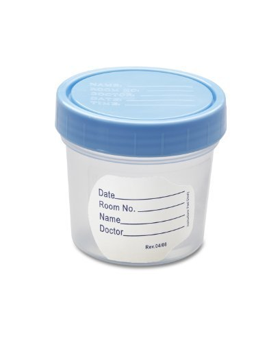 Medline Basic Specimen Containers - Pack of 20 (Container Specimen)