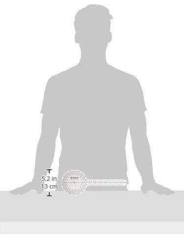Prestige Medical Plastic Goniometer 360 Degree ISOM, 12 Inch - http://medicalbooks.filipinodoctors.org