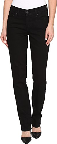 Levi's Women's 414 Relaxed Straight Jeans, Black Onyx, 31 (US 12) - Black Hip Onyx
