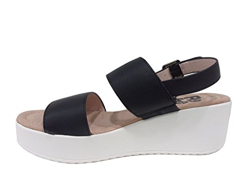 Sandalo donna fondo zeppa Refresh