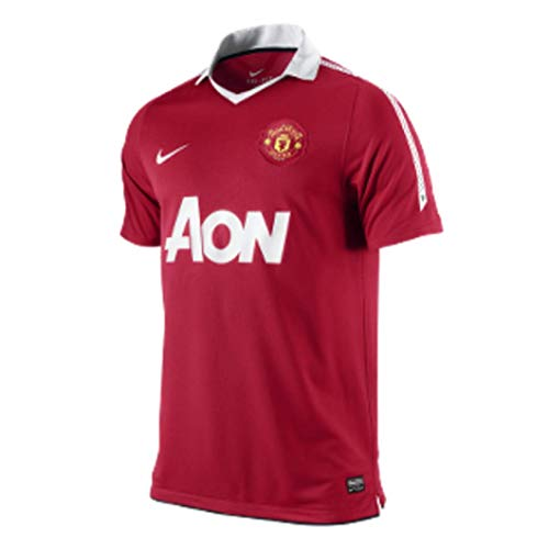 Nike Manchester United Home Short Sleeve Jersey 2010/2011 - XX Large 2011 Manchester United Jersey