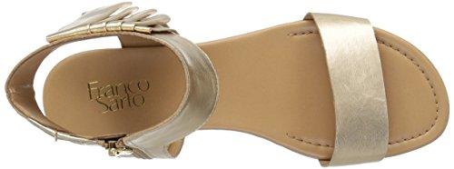 Franco Sarto Women's L-Glitter Sandal Gold KkxpM