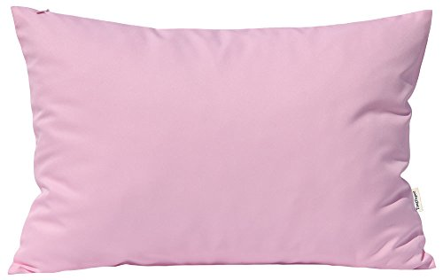 Pillow Decorative Rectangle Toss (TangDepot Durable Faux Silk Solid Pillow Shams, Rectangle pillow covers, Decorative Cushion Cover Pillowcase, Throw Pillow Covers - (12