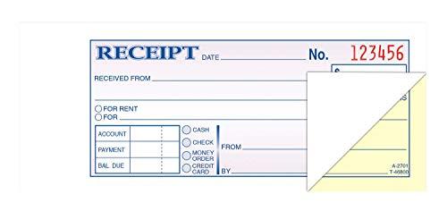 Most Popular Money & Rent Receipts