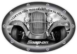 snap-on tools Fix Your Car Decal
