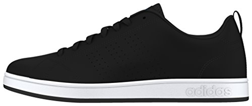adidas Jungen Advantage Clean Vs Turnschuhe Black (Negbas / Negbas / Blau)