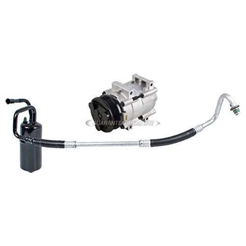 Mercury Sable Ac Compressor - AC Compressor w/A/C Drier For Ford Taurus Mercury Sable 2002 2003 2004 2005 2006 2007 - BuyAutoParts 60-86371R2 NEW