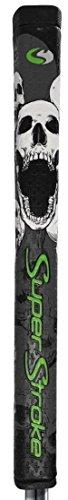 Super Stroke Flatso 1.0 Skull Counter Core Putter Grip, 50 gram weight