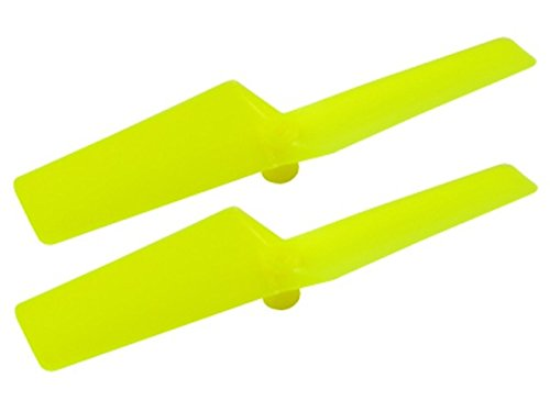 Microheli Plastic Tail Blade 42mm (YELLOW) - T-REX 150 DFC