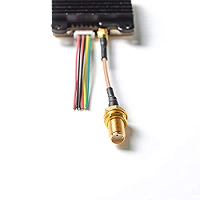 AKK A1819(US Version) 5.8G Long Range VTX FPV Transmitter 200mW/400mW/800mW/1000mW Switchable VTX Support Smart Audio: Toys & Games