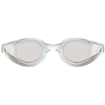 mini ROKA R1 Anti-Fog Swim Goggles with RAPIDSIGHT Razor Sharp Optics - Clear Mirror