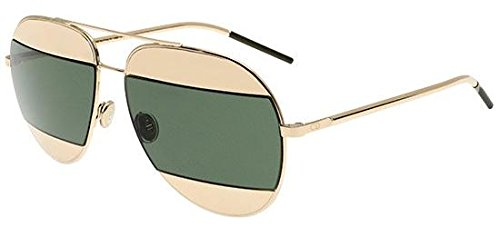 Dior Women CD SPLIT1 59 Rose Gold/Silver Sunglasses ()