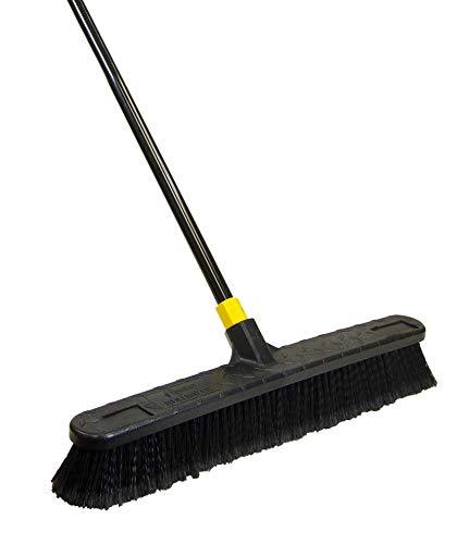 Quickie Quckie Push Broom, 1 Pack, Black