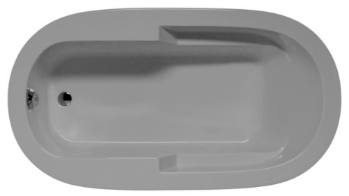 Malibu home mhmr7242s08 marco oval soaking bathtub for Best soaker tub for the money