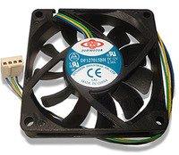New! 4 Wire 70mm PWM replacement fan for Intel Heatsink New!