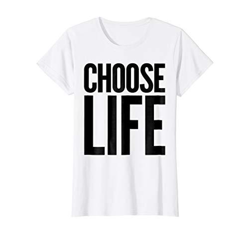 Choose Life Vintage Retro 80s Funny T-Shirt