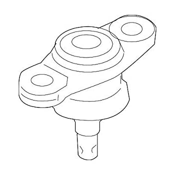 2 FRONT LOWER BALL JOINT FOR KIA RANDO FORTE 06-10
