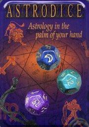 Astrowürfel - Astrodice: 3 Würfel im Stoffbeutel mit 12-seitiger Anleitung