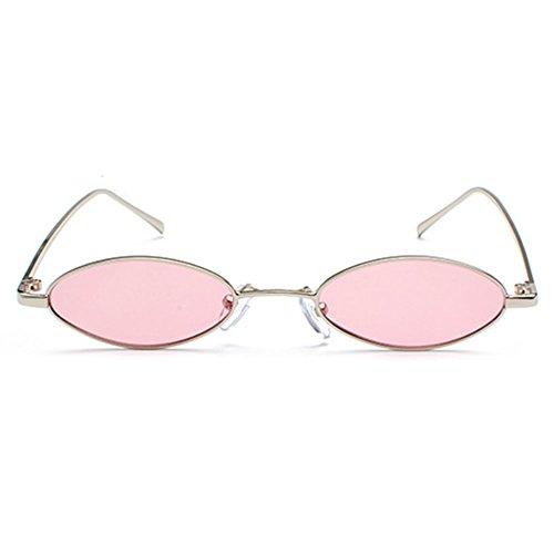 Pequeñas Vintage gafas gafas sol Retro de C4 ovaladas de sol UV400 Hombres Highdas Pequeñas Mujeres pwZ1q1