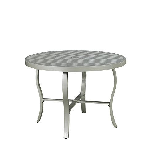 South Beach Gray Round Outdoor Patio Dining Table by Home Styles