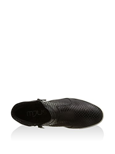 Mjus Zapatillas Abotinadas Stuff Negro EU 39