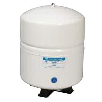 """PAE (RO-152) 5.0 Gallon Metal Storage Tank 1/4"""" NPT; White"""