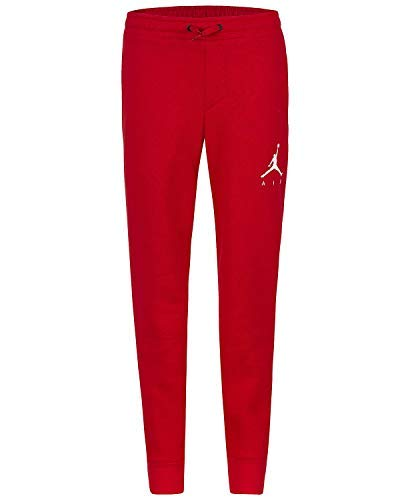Jordan Boys Youth Jumpman Fleece Jogger Sweat Pants Size M, L, XL (Gym Red, Medium (10-12))