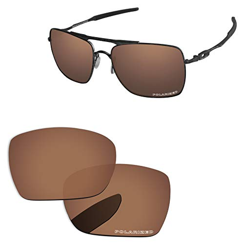 (PapaViva Lenses Replacement for Oakley Deviation Copper Brown -)