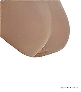 4891e502b991a Slip rembourré Culotte Remonte-Fesses Plates Taille L Culotte Beige ...