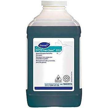 Diversey Suma 100839776 Pan-Clean General Purpose Pot and Pan Detergent, D1.5, 2 x 84.5 oz./2.5 L (Pack of 2)