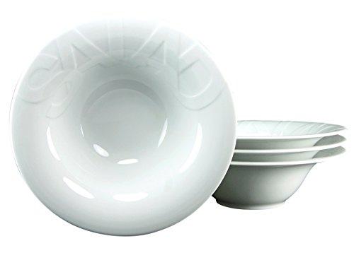 Creatable 16692 Serie Gourmet, Salatteller 27 cm,  Set 4 teilig