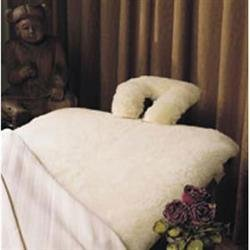 SnugSoft Deluxe 100% Natural Wool 1 Massage Table Pad by Hot Stone by SnugFleece