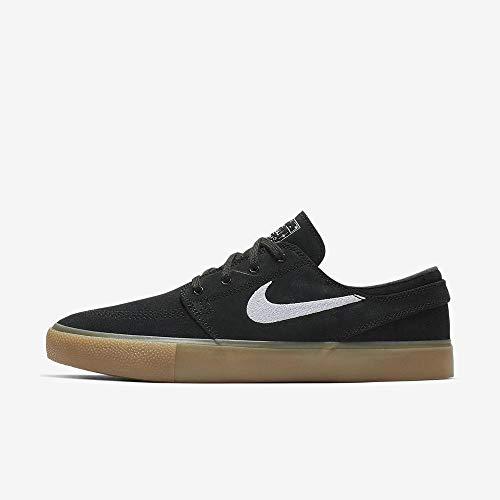 Nike SB Zoom Janoski RM Mens Skateboarding Shoes Black/White-Gum Light Brown 8.5 M US
