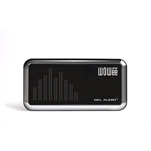 WOWee One Power Bass Portable Speaker for iPad, iPhone, MP3 Players, Laptops, Mobile Phones, and Personal Game Systems (Black with Silver) by WOWee One