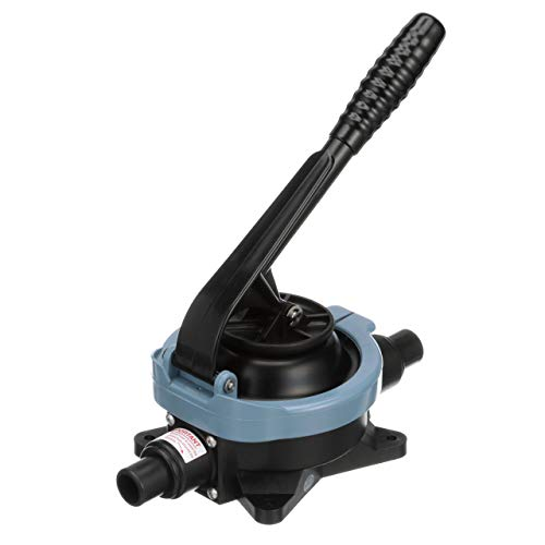 Whale BP9005 Gusher Urchin Manual Bilge Pump - On-Deck Fixed Handle, up to 14.5 GPM Flow Rate, 1-Inch or 1 ½-Inch Hose Connection ()