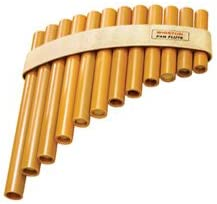 Concert Series Pan Flute - 12-note diatonic scale, A to E