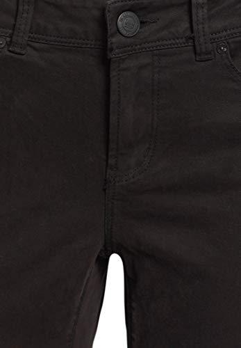 Skinny Pantalón Para Liso Khujo Negro Mujer qUBwY5d