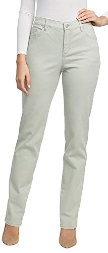 Gloria Vanderbilt Amanda Colored Straight Leg Denim Jeans Desert Sage 18