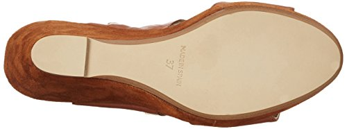 Gardenia Copenhagen Wedge Sandal, Sandalias de Cuñas para Mujer Marrón (Napa Black)