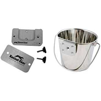 Pet Supplies : Kennel-Gear 2-Quart Dog Pail : Pet Bowls