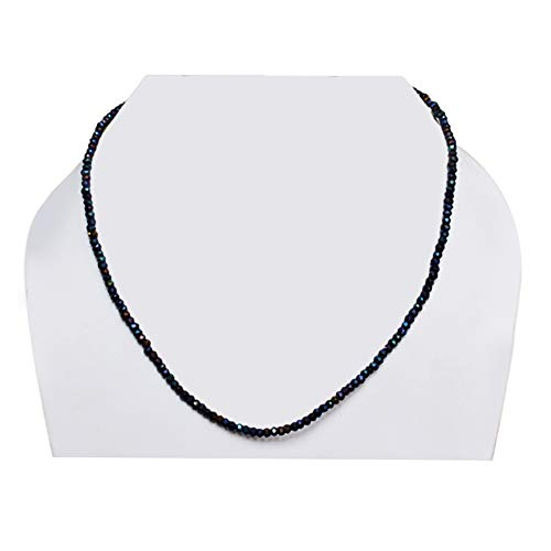 Ravishing Impressions Beautiful 3.5 MM Titanium Druzy Gemstone Strands Beads, Faceted Cut, Roundel Beads, Women Jewellery FSJ-703