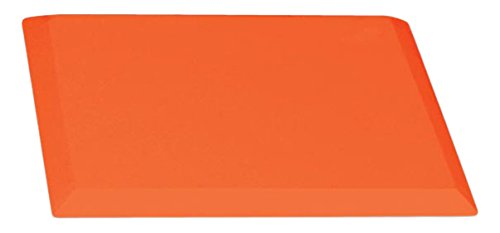 CHAMPRO B025 &B026B Orange Safety Base, Orange, 1/2